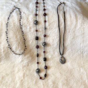 All 3 for only $8 - Lia Sophia jewelry